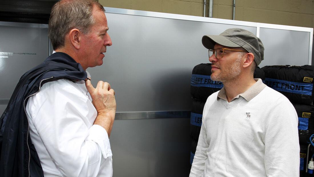 Brundle & Villeneuve - Formel 1 - GP Brasilien - 22. November 2013