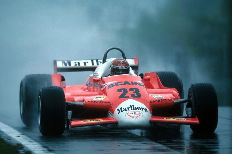 Bruno Giacomelli - Alfa Romeo 179 - GP Belgien 1980 - Zolder