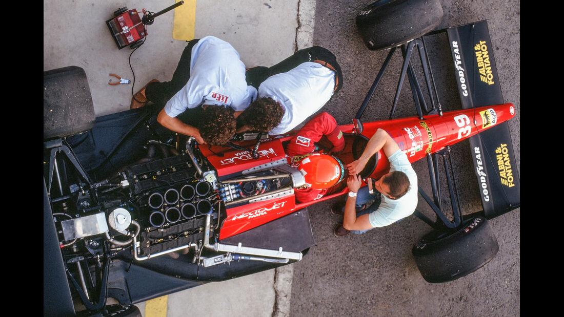Bruno Giacomelli - Life Judd L190 - Formel 1 - 1990