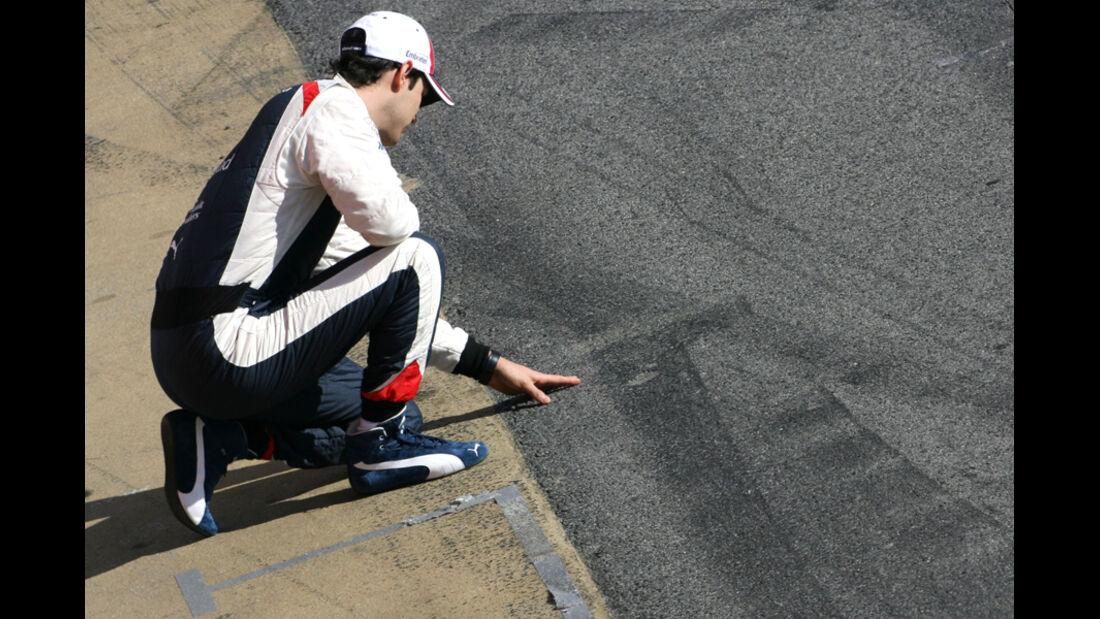 Bruno Senna - F1-Test - Barcelona 2012