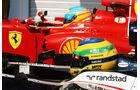 Bruno Senna & Fernando Alonso - Formel 1 - GP Ungarn - Budapest - 28. Juli 2012