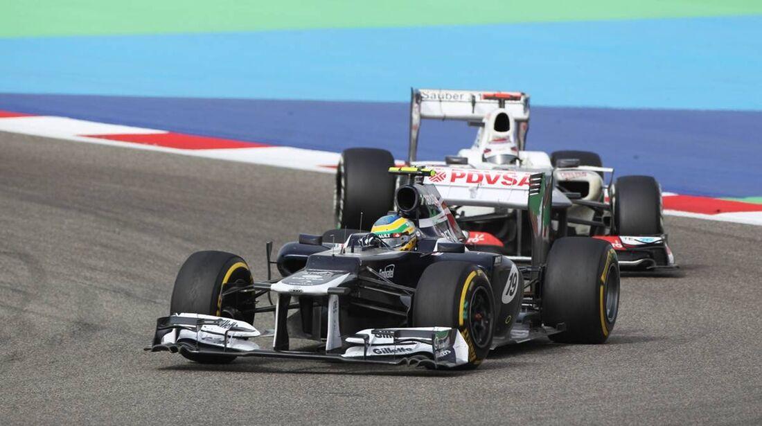 Bruno Senna  - Formel 1 - GP Bahrain - 22. April 2012