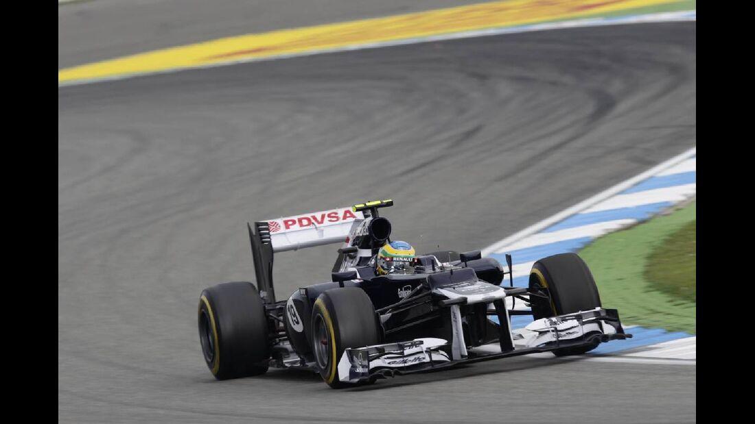 Bruno Senna - Formel 1 - GP Deutschland - 21. Juli 2012