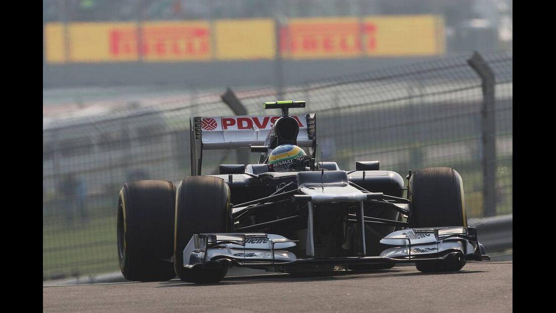 Bruno Senna - Formel 1 - GP Indien - 27. Oktober 2012