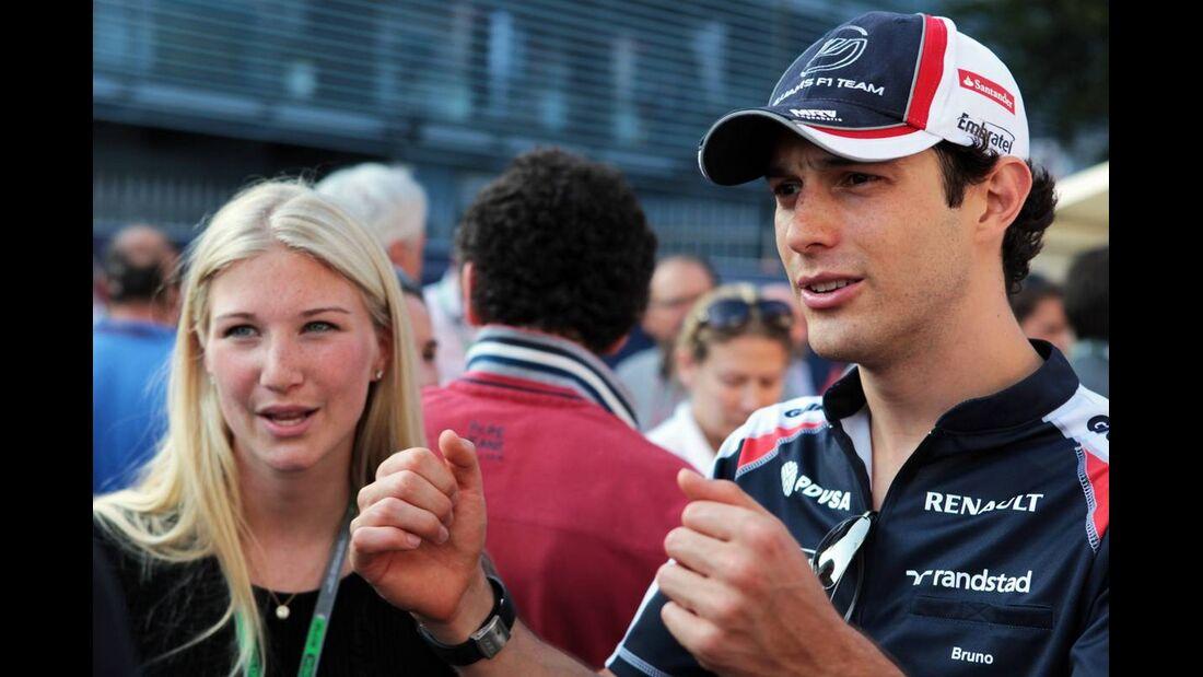 Bruno Senna - Formel 1 - GP Italien - 08. September 2012