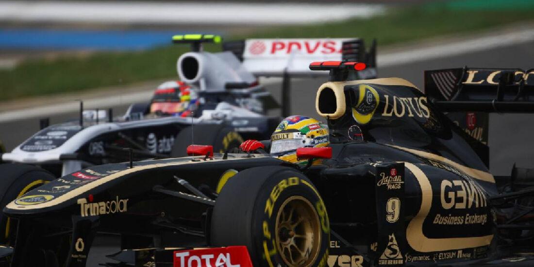 Bruno Senna - Formel 1 - GP Korea - 16. Oktober 2011