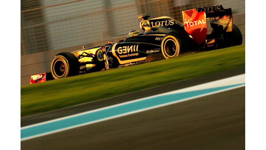 Bruno Senna - GP Abu Dhabi - Freies Training - 11. November 2011