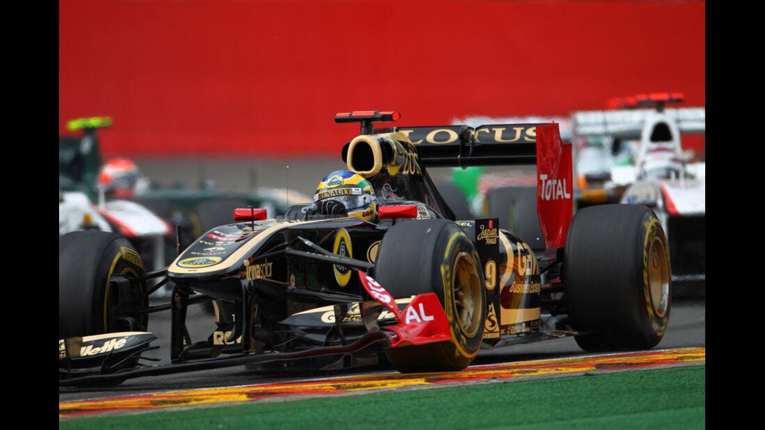 Bruno Senna GP Belgien 2011
