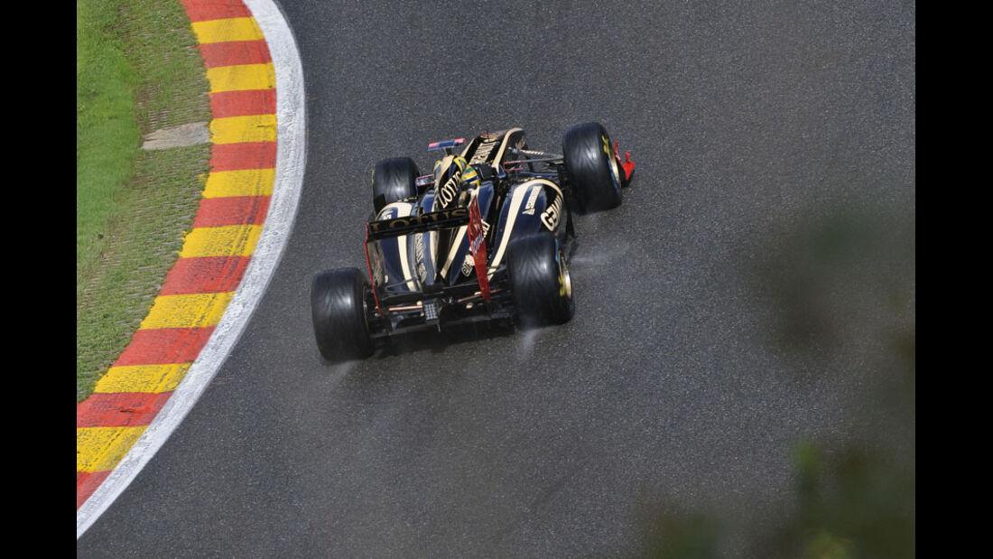 Bruno Senna - GP Belgien - Qualifying - 27.8.2011