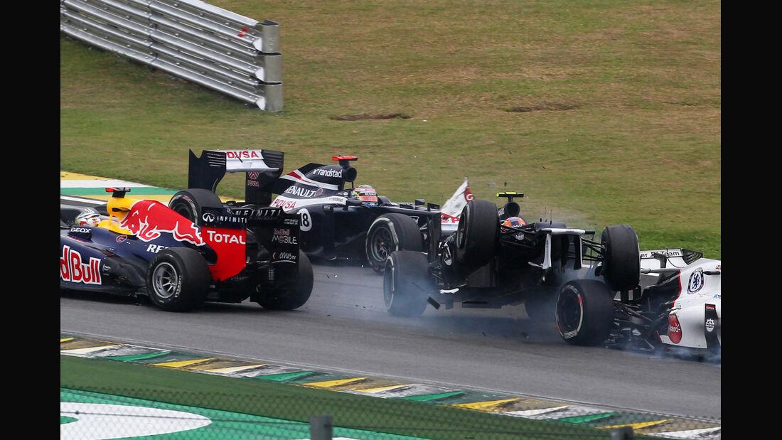 Bruno Senna GP Brasilien 2012