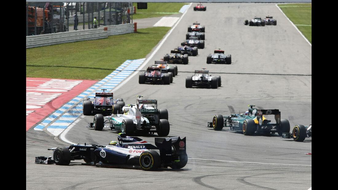 Bruno Senna GP Deutschland 2012