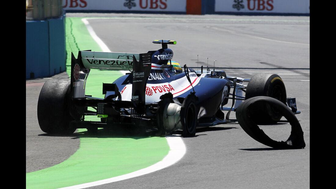 Bruno Senna GP Europa 2012