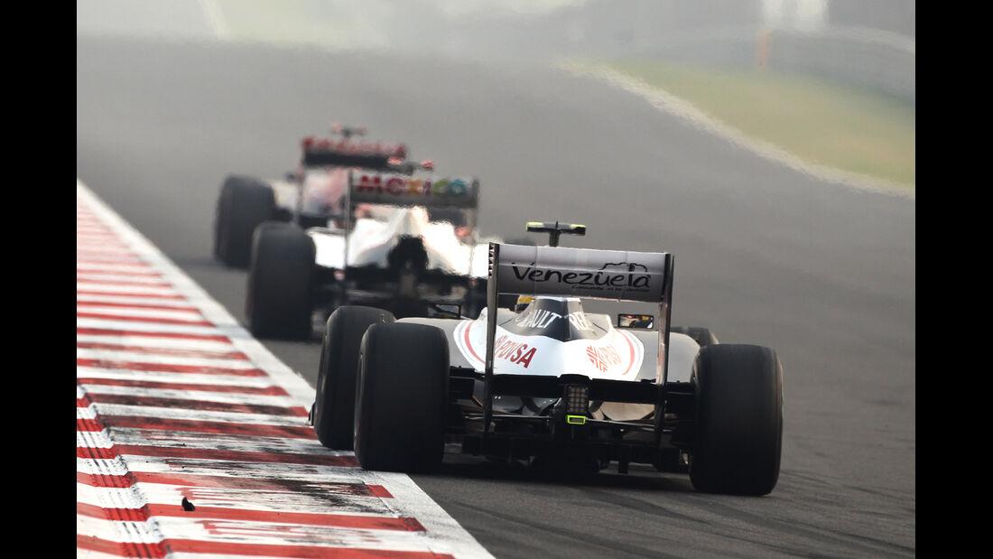 Bruno Senna GP Indien 2012