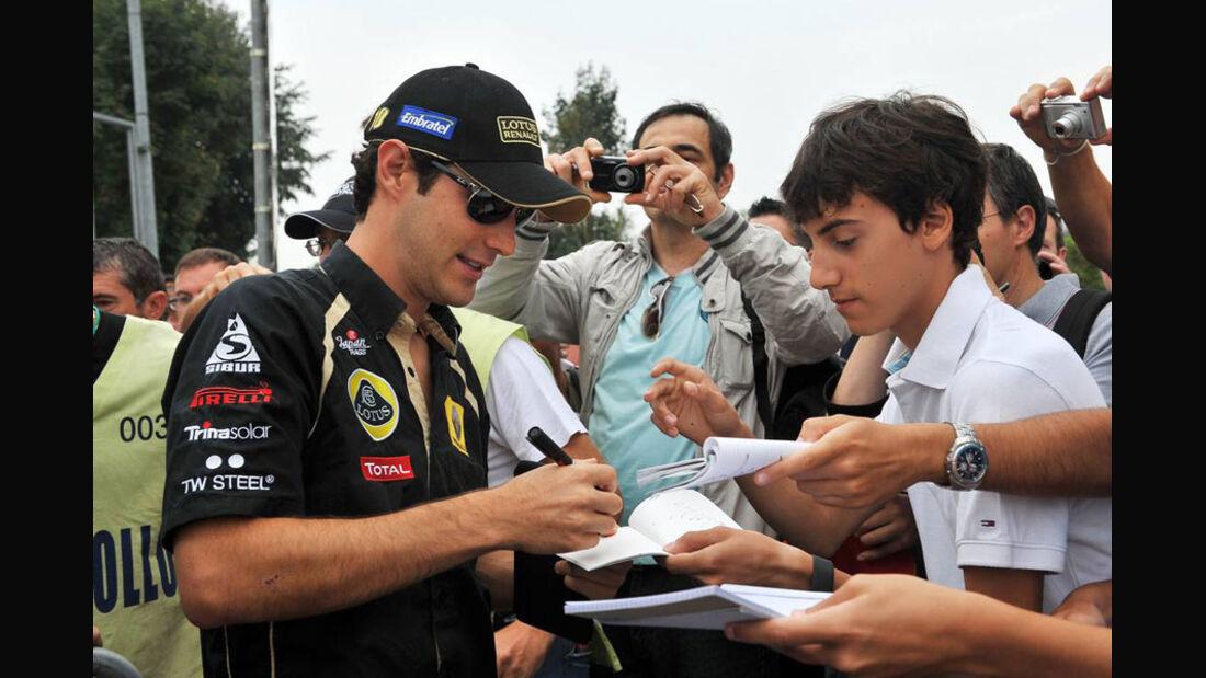 Bruno Senna - GP Italien - Monza - 10. September 2011