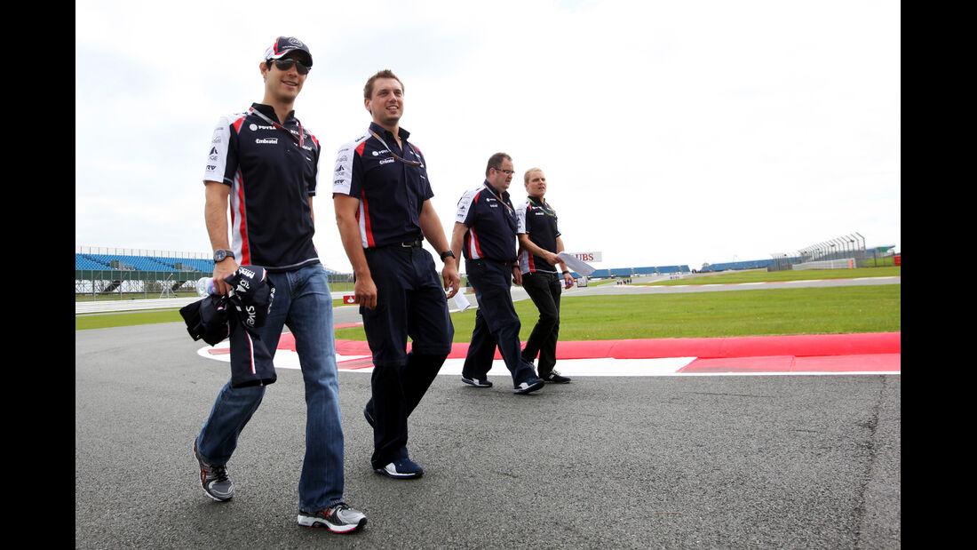 Bruno Senna - Williams - Formel 1 - GP England - Silverstone - 5. Juli 2012