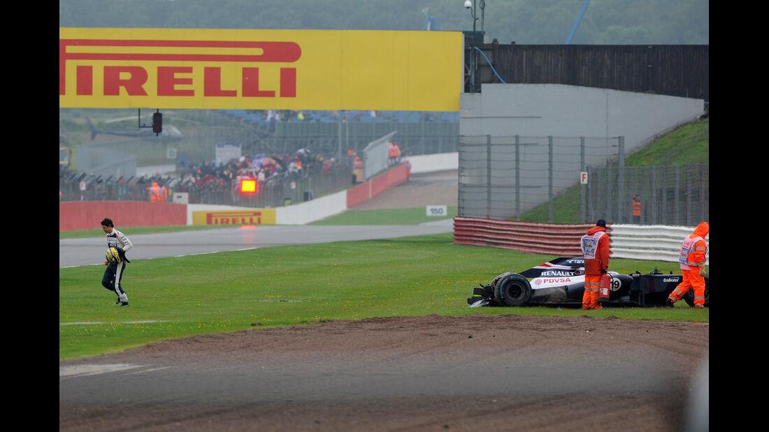 Bruno Senna - Williams - Formel 1 - GP England - Silverstone - 6. Juli 2012