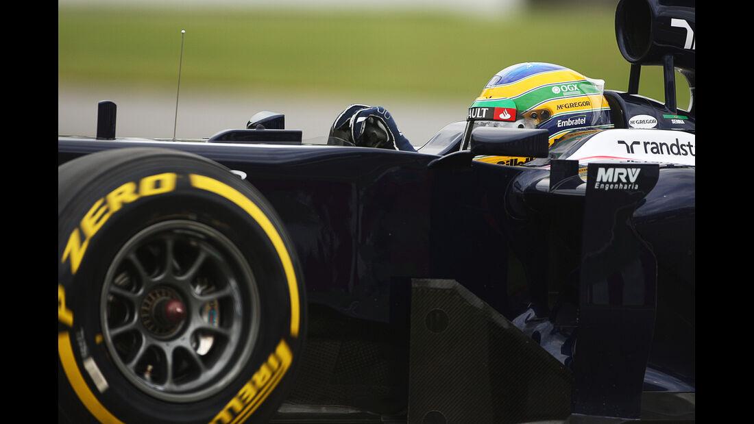 Bruno Senna - Williams - Formel 1 - GP Kanada 2012 - 8. Juni 2012