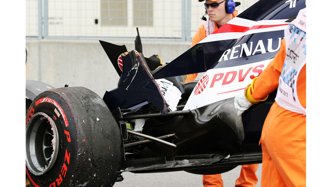 Bruno Senna - Williams - Formel 1 - GP Kanada - 8. Juni 2012