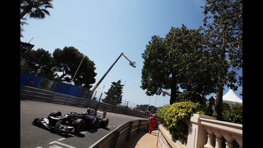 Bruno Senna - Williams - Formel 1 - GP Monaco - 24. Mai 2012