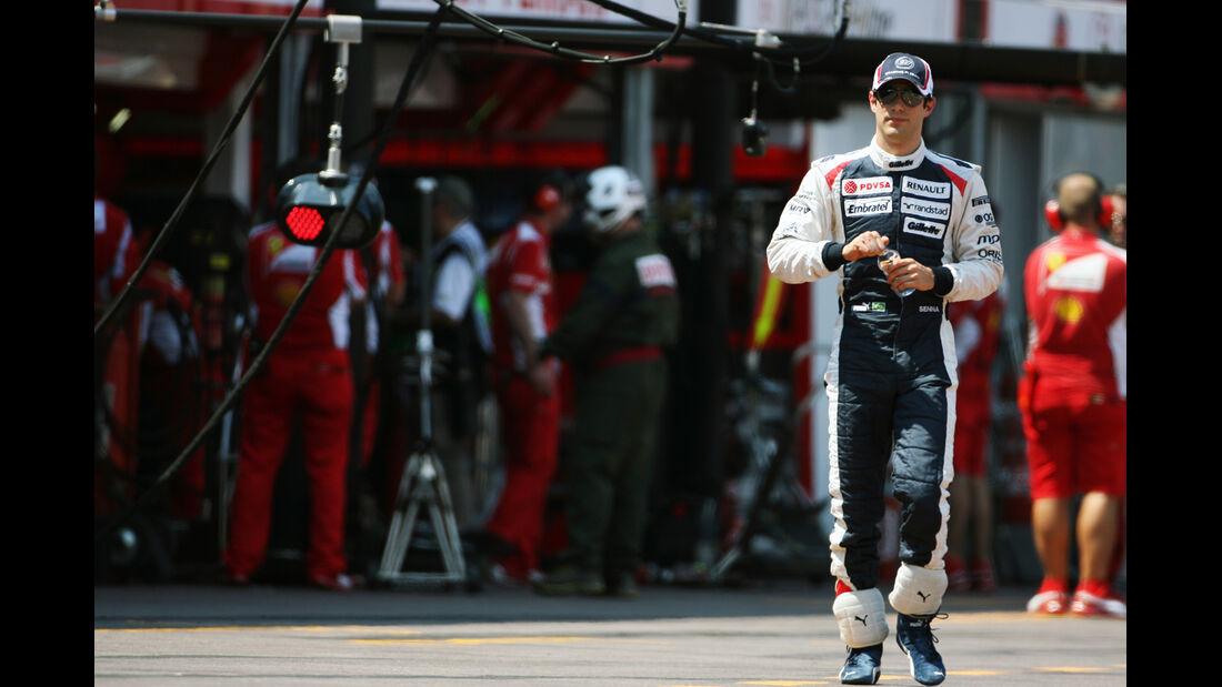 Bruno Senna - Williams - Formel 1 - GP Monaco - 26. Mai 2012