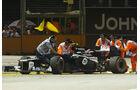 Bruno Senna - Williams - Formel 1 - GP Singapur - 21. September 2012
