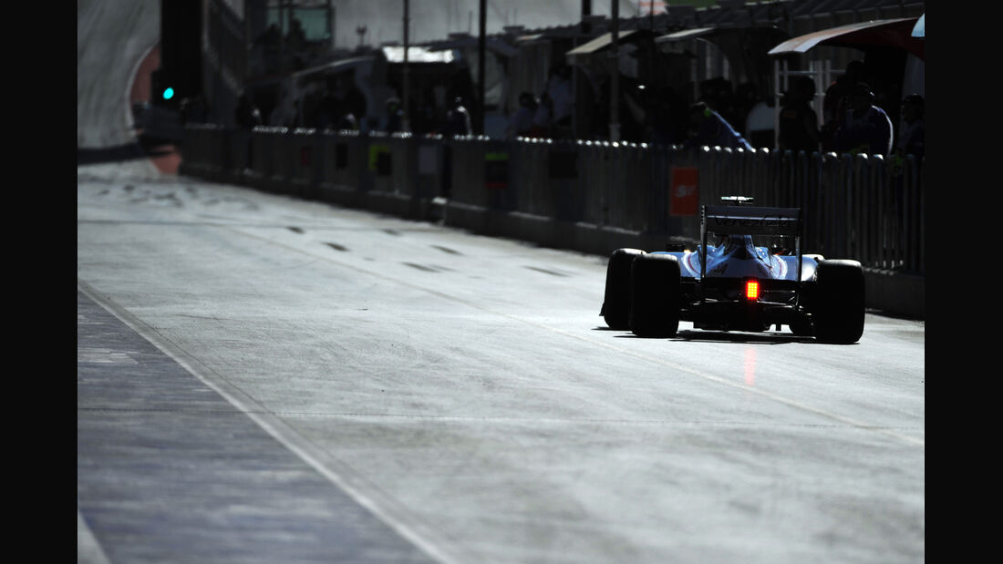 Bruno Senna - Williams - Formel 1 - GP USA - Austin - 16. November 2012