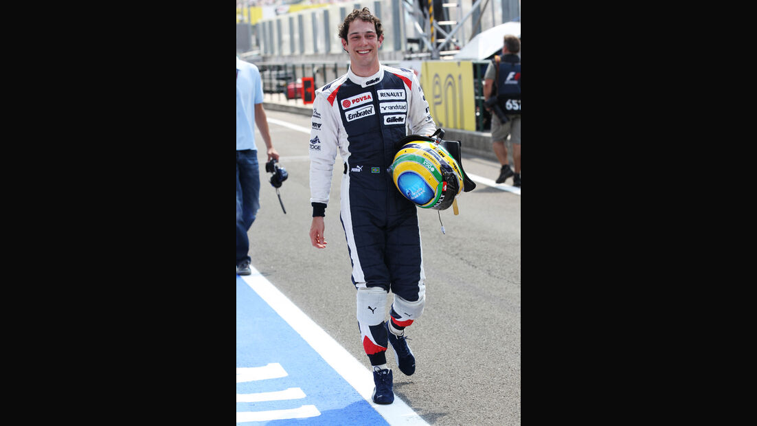 Bruno Senna - Williams - Formel 1 - GP Ungarn - Budapest - 28. Juli 2012
