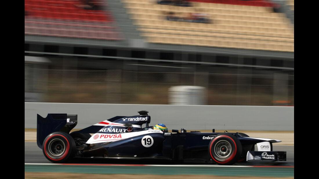 Bruno Senna - Williams - Formel 1-Test Barcelona - 3. März 2012