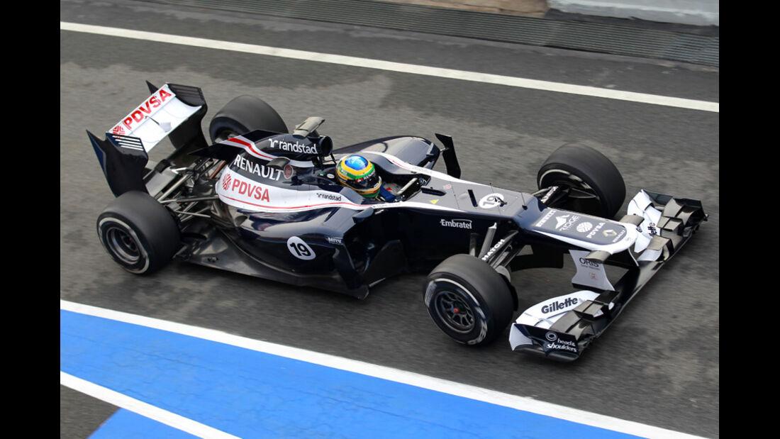 Bruno Senna - Williams - Formel 1-Test Barcelona - 4. März 2012