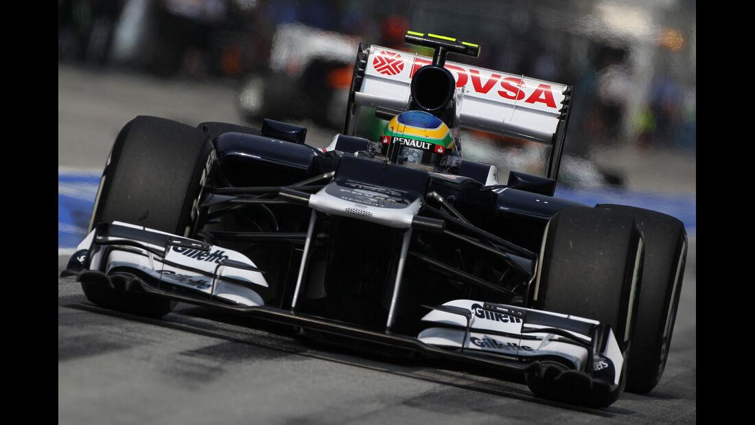 Bruno Senna - Williams - GP Malaysia 2012