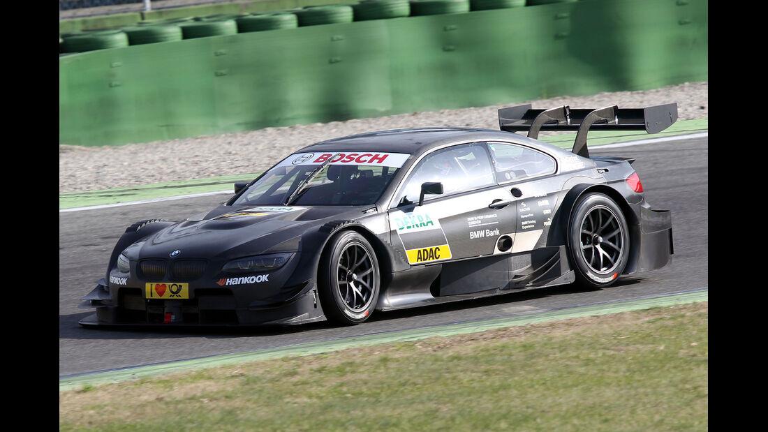 Bruno Spengler DTM Test Hockenheim 2012