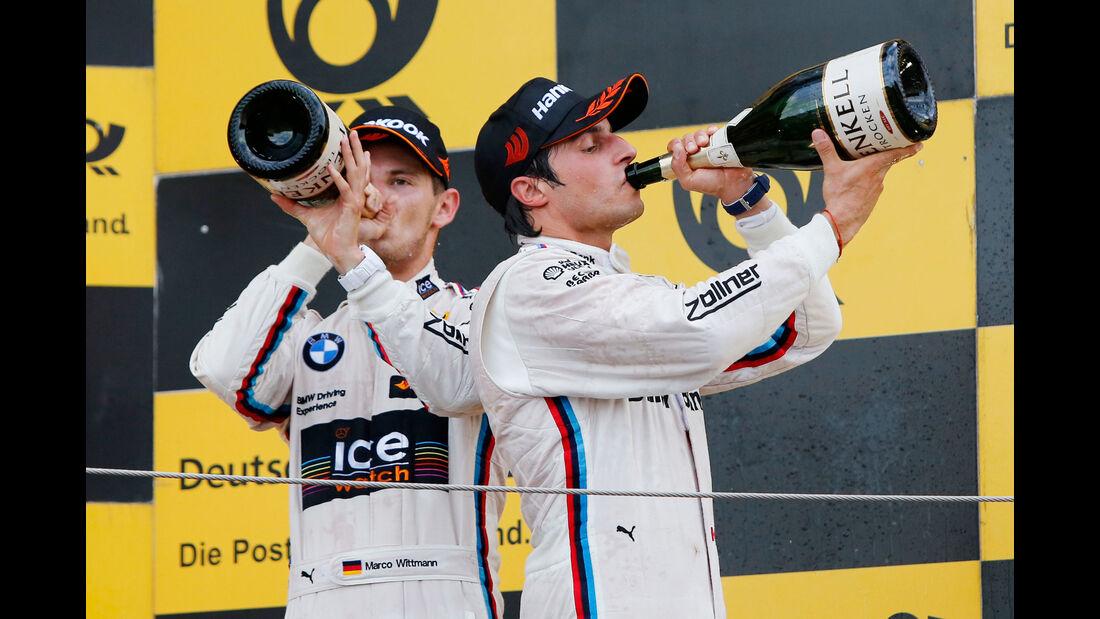 Bruno Spengler - Marco Wittmann - BMW - DTM - Moskau - 1. Rennen - Samstag - 29.08.2015
