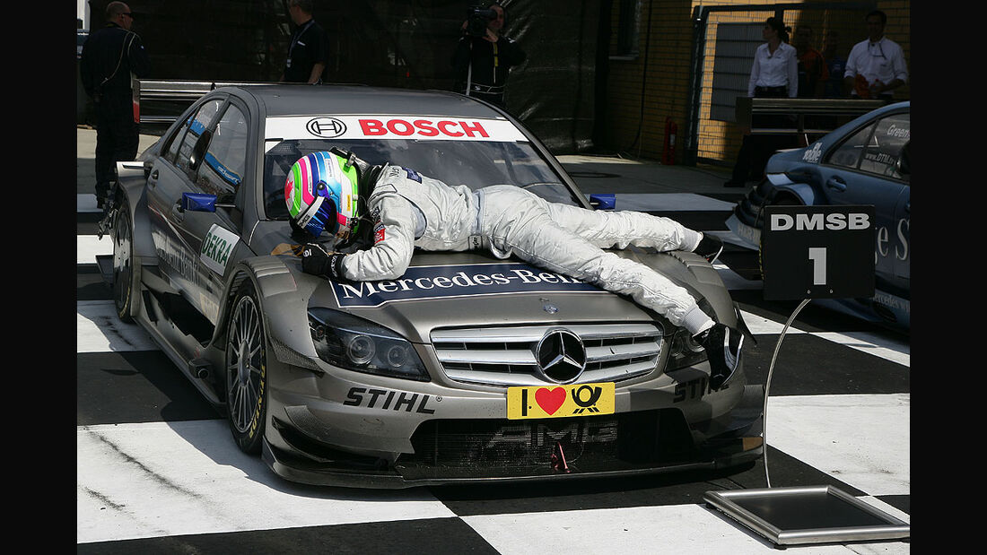 Bruno Spengler, Mercedes DTM, Lausitzring 2010