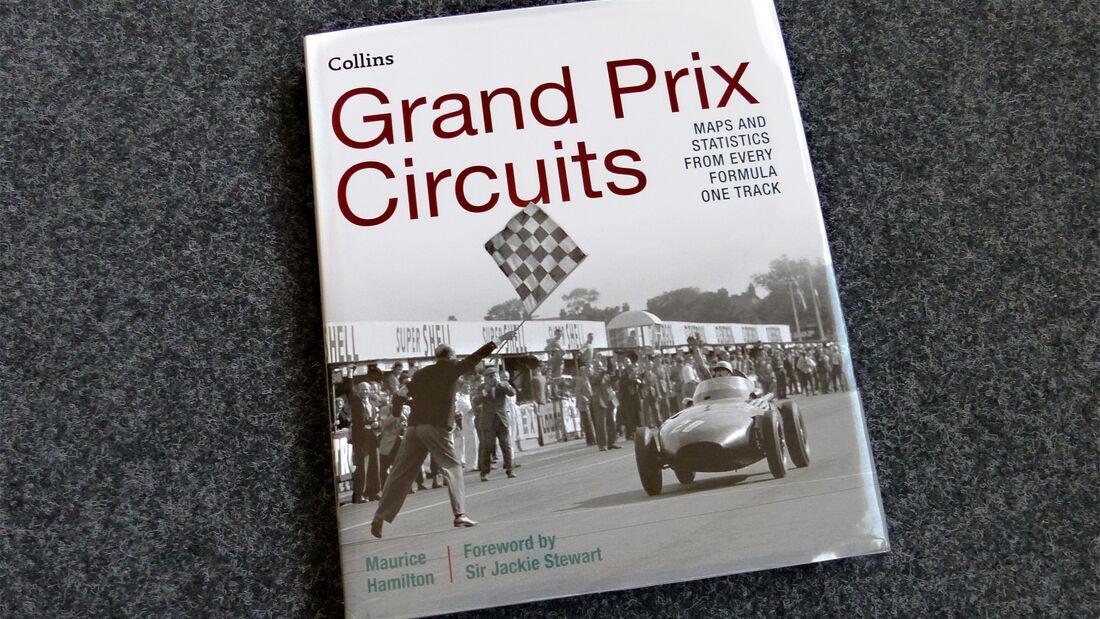 """Buchtitel Cover """"Grand Prix Circuits"""""""