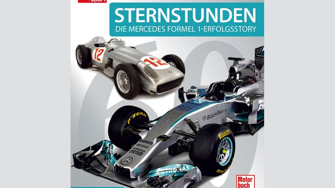 Buchtitel - Sternstunden - Mercedes-Story - 2015