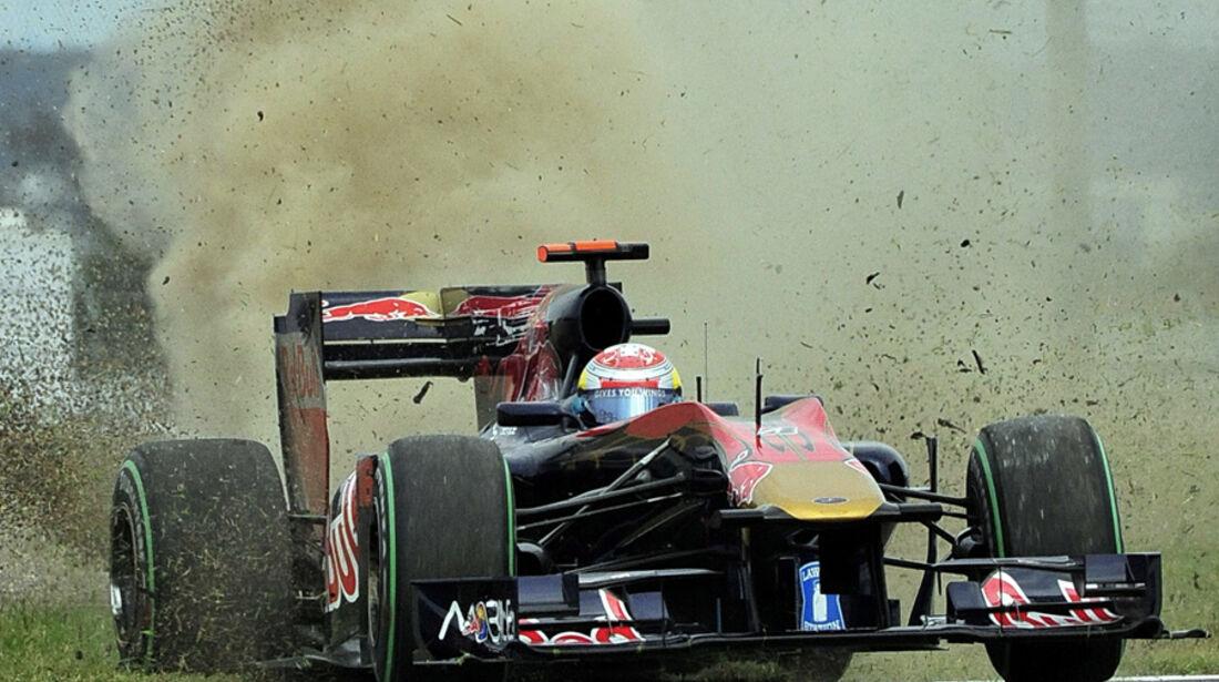Buemi Crash GP Japan