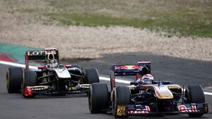Buemi Heidfeld GP Deutschland 2011