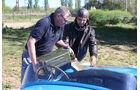 Bugatti 252, Benzin, Nachfüllen