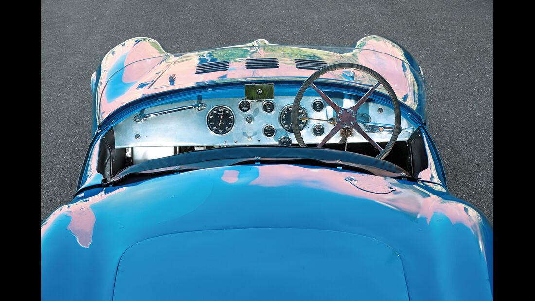 Bugatti 252, Cockpit, Instrumente