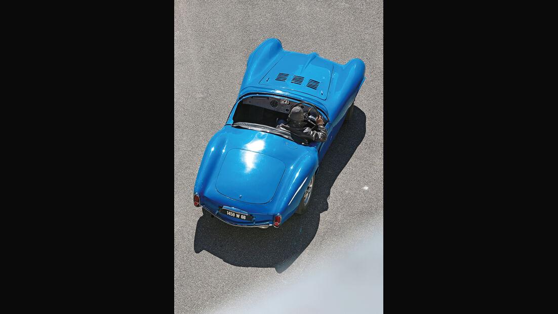 Bugatti 252, Draufsicht