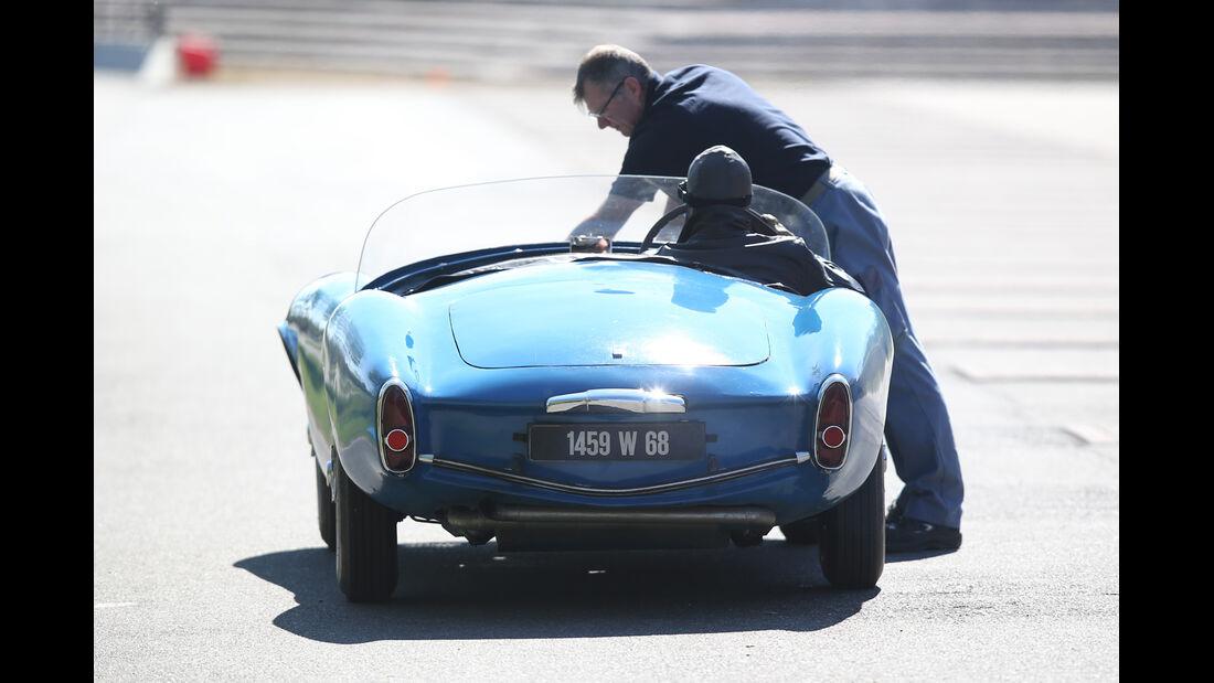 Bugatti 252, Heckansicht