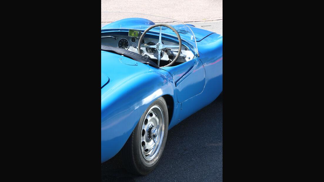 Bugatti 252, Lenkrad