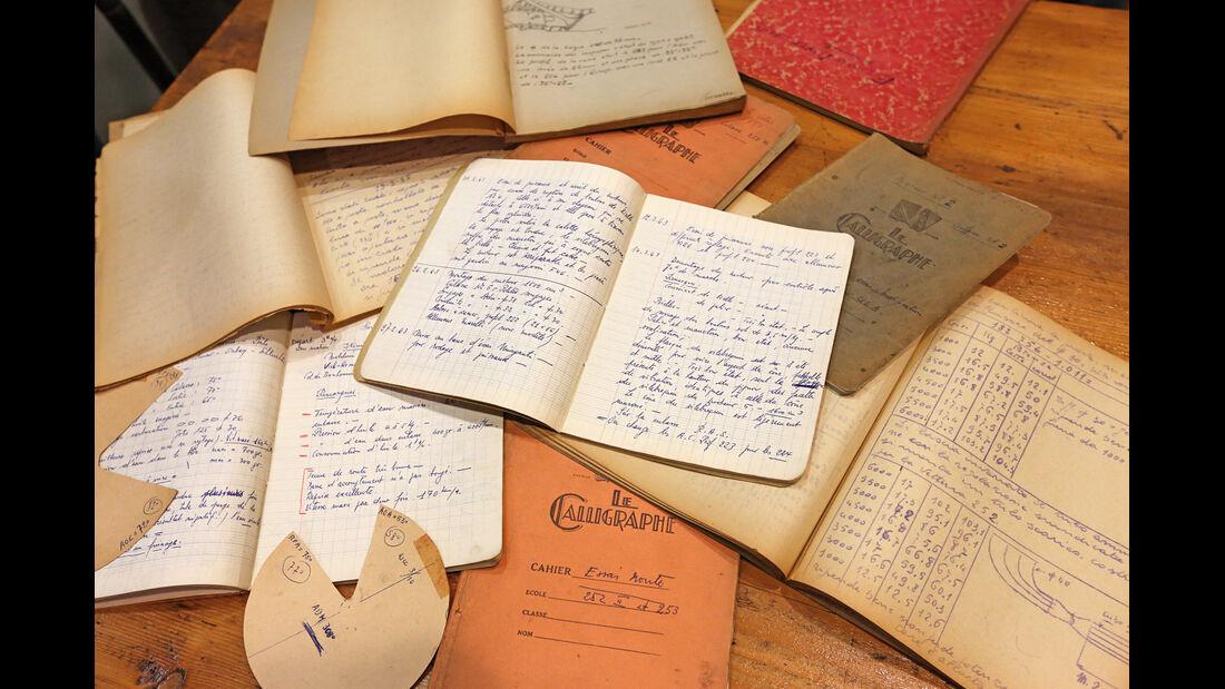 Bugatti 252, Papiere, Konstruktionspläne