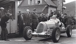 Bugatti 35B/51A - Fritz-Georg Martin - Baiersbronn-Obertal - Ruhestein - Bergrennen 1946