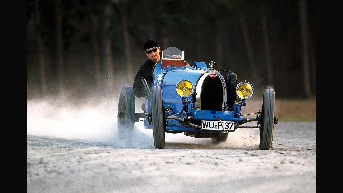 Bugatti 37, Frontansicht