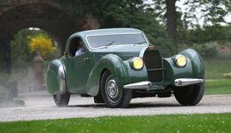Bugatti 57 C Vanvooren, Frontansicht