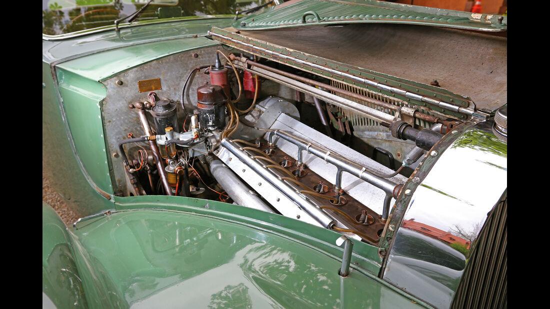 Bugatti 57 C Vanvooren, Motor