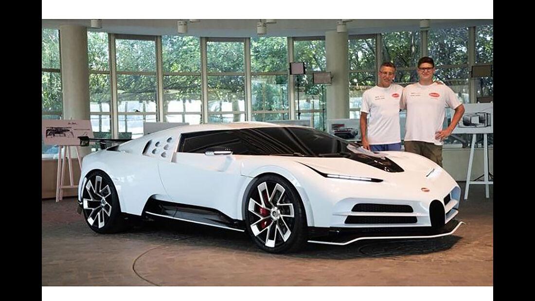 Bugatti Centodieci leaked
