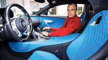 Bugatti Chiron, Cockpit