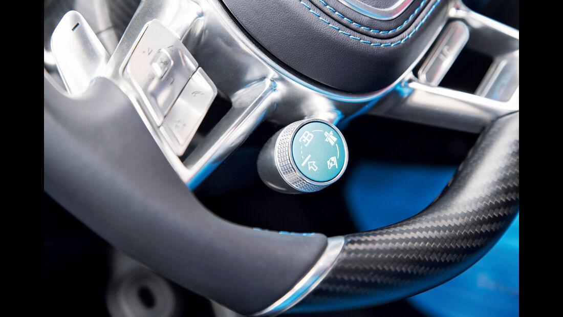 Bugatti Chiron, Fahrmodus, Drehknopf